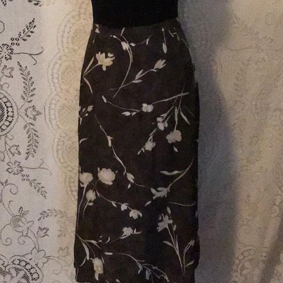 Ellen Figg Dresses & Skirts - Vintage- Ellen Figg Rayon Midi Skirt